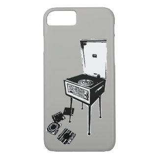 Capa iPhone 8/ 7 Caixa retro cinzenta do iPhone 7 do jogador