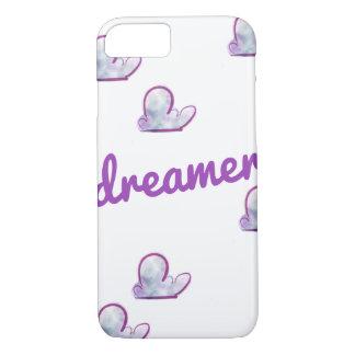 Capa iPhone 8/ 7 Caixa roxa da nuvem do sonhador