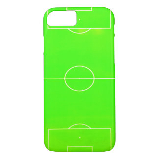 Capa iPhone 8/ 7 Caixa verde de néon do iPhone 7 do campo de