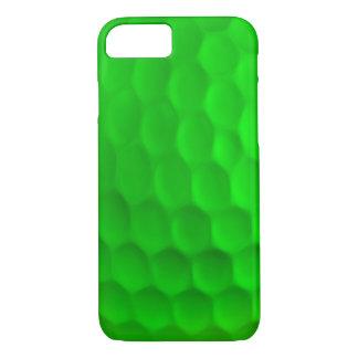 Capa iPhone 8/ 7 Caixa verde do iPhone 7 da bola de golfe