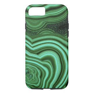 "Capa iPhone 8/ 7 ""Caixa verde do iPhone 7 da malaquite """
