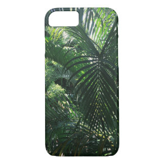 Capa iPhone 8/ 7 Caixa verde do iPhone 7 da palmeira