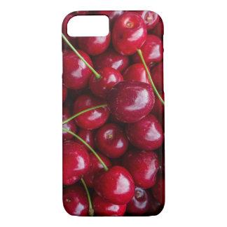 Capa iPhone 8/ 7 Caixa vermelha da cereja