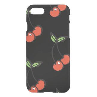 Capa iPhone 8/7 Caixa vermelha & verde do iphone 7 da cereja