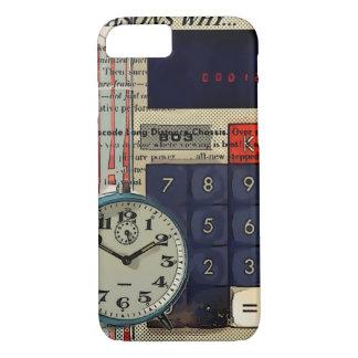 Capa iPhone 8/ 7 Calculadora financeira do contador do conselheiro