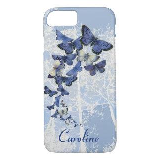 Capa iPhone 8/ 7 Caleidoscópio feito sob encomenda de borboletas