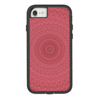 Capa iPhone 8/ 7 Caleidoscópio vermelho