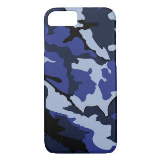 Capa iPhone 8/ 7 Camo azul, iPhone 7, mal lá caso