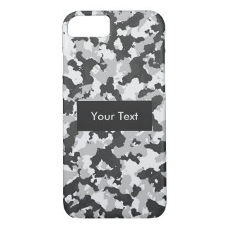 Capa iPhone 8/ 7 Camuflagem ártica customizável