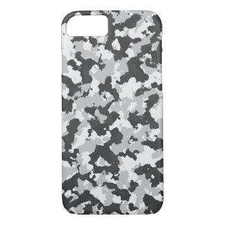 Capa iPhone 8/ 7 Camuflagem cinzenta