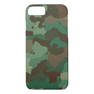 Capa iPhone 8/ 7 Camuflagem, militar
