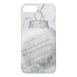 Capa iPhone 8/ 7 Canção de natal do Natal na neve
