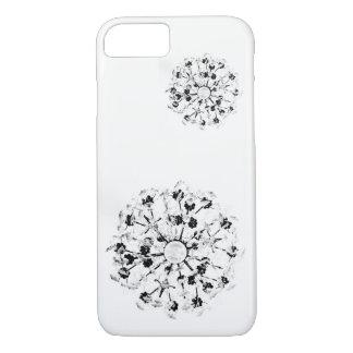 Capa iPhone 8/ 7 Candelabro da caixa preta do telemóvel de