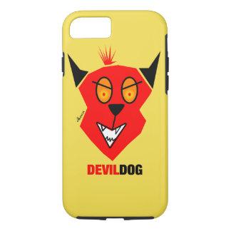Capa iPhone 8/ 7 Cão de diabo - cobrir do iPhone 7
