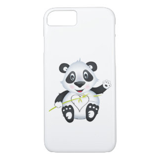 "Capa iPhone 8/ 7 ""Capa de telefone do caráter da panda do selo"