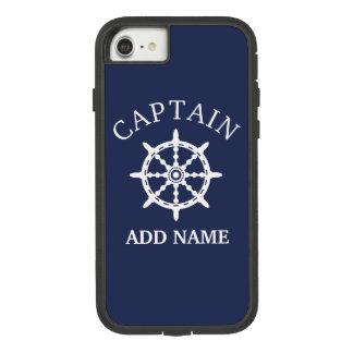 Capa iPhone 8/ 7 Capitão do barco (personalize o Nome do capitão)