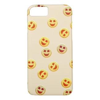 Capa iPhone 8/ 7 caras felizes dos biscoitos