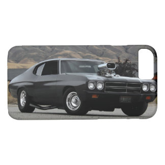 Capa iPhone 8/ 7 Carro 1970 do músculo do arrasto de Chevy Chevelle