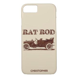 Capa iPhone 8/ 7 Carro oxidado legal da velha escola retro de Rod