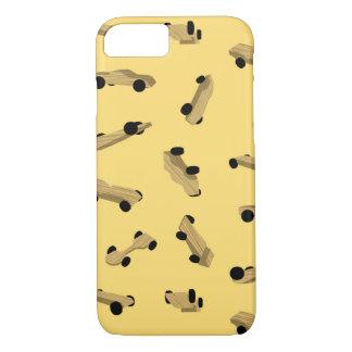 Capa iPhone 8/ 7 Carros de Derby no ouro