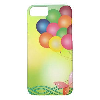 Capa iPhone 8/ 7 Cartão do borrão com balões