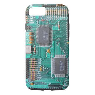 Capa iPhone 8/ 7 Cartão-matriz: foto do conselho de lógica do