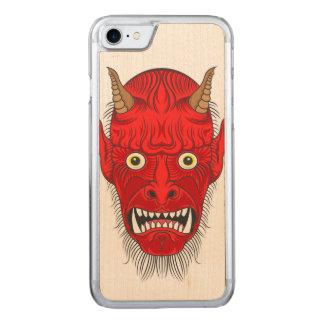 Capa iPhone 8/ 7 Carved A ilustração principal do diabo