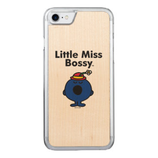 Capa iPhone 8/ 7 Carved A senhorita pequena pequena Bossy da senhorita | é
