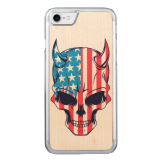 Capa iPhone 8/ 7 Carved Americano Hellion