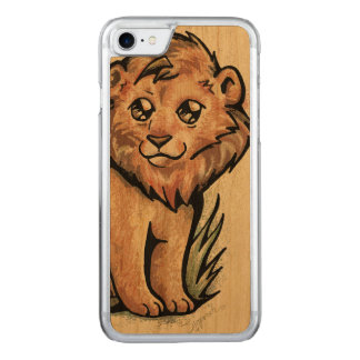 Capa iPhone 8/ 7 Carved Animal bonito:  Leão