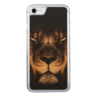 Capa iPhone 8/ 7 Carved Arte africana da cara do leão