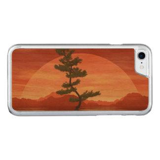 Capa iPhone 8/ 7 Carved Árvore dos bonsais do pinho escocês - 3D rendem
