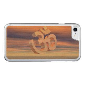 Capa iPhone 8/ 7 Carved Aum - OM em cima dos waterlilies - 3D rende