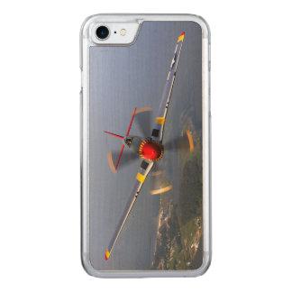 Capa iPhone 8/ 7 Carved Aviões de lutador do mustang P-51
