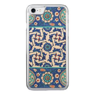 Capa iPhone 8/ 7 Carved azulejo do iznik