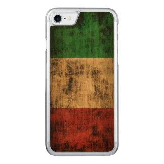 Capa iPhone 8/ 7 Carved Bandeira do Grunge do vintage de Italia