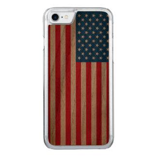 Capa iPhone 8/ 7 Carved Bandeira dos Estados Unidos da bandeira dos EUA