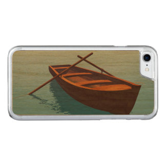 Capa iPhone 8/ 7 Carved Barco de madeira - 3D rendem