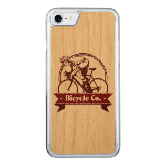 Capa iPhone 8/ 7 Carved Bicicleta 1 do vintage