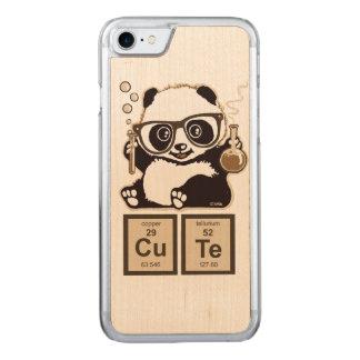 Capa iPhone 8/ 7 Carved Bonito descoberto panda da química
