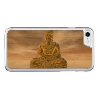 Capa iPhone 8/ 7 Carved Buddha dourado - 3D rendem
