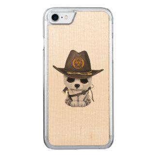 Capa iPhone 8/ 7 Carved Caçador do zombi do urso polar do bebê