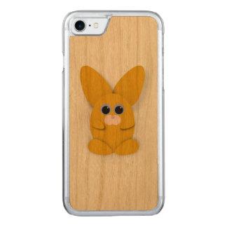 Capa iPhone 8/ 7 Carved Caixa amarela de Bunn do discrição