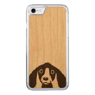 Capa iPhone 8/ 7 Carved Cão longo das orelhas