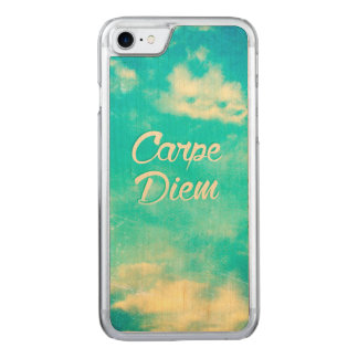Capa iPhone 8/ 7 Carved Carpe Diem