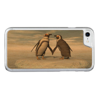 Capa iPhone 8/ 7 Carved Casal dos pinguins