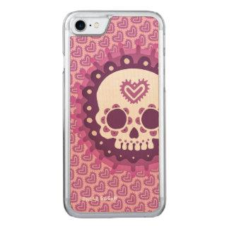 Capa iPhone 8/ 7 Carved Caso de Skully
