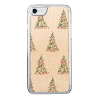 Capa iPhone 8/ 7 Carved Caso do tempo do Natal