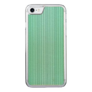 Capa iPhone 8/ 7 Carved Cerceta de água-marinha e teste padrão verde das