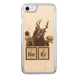 Capa iPhone 8/ 7 Carved Cerveja descoberta urso da química